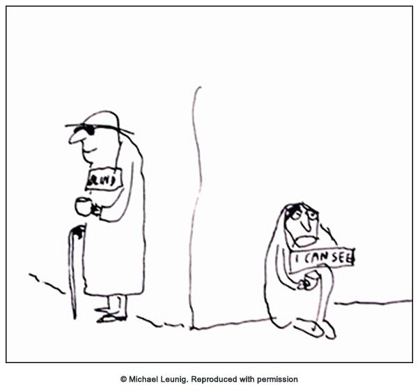 Michael Leunig cartoon
