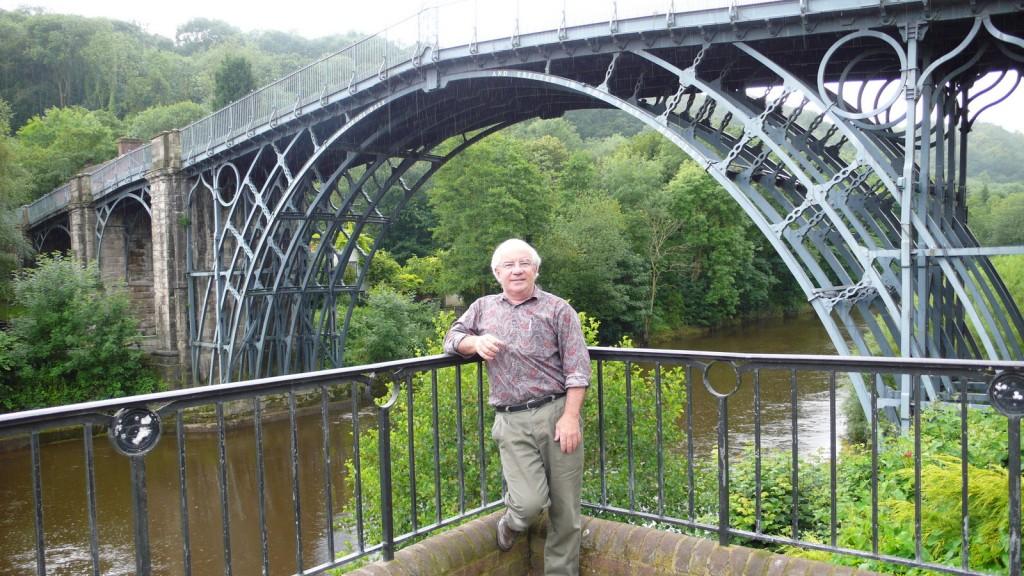 At Ironbridge - cradle of the steel industry